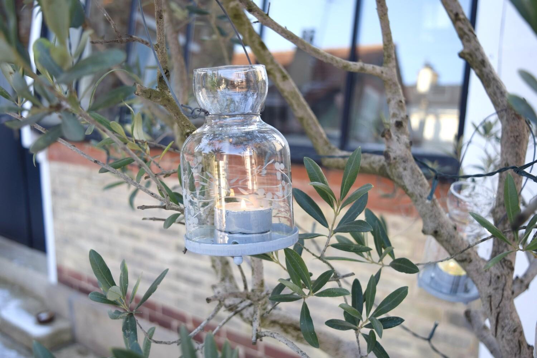 Lanterne Tingle grise