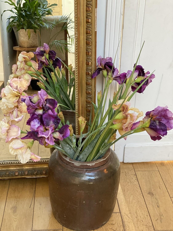 Iris lilas- fleur artificielle
