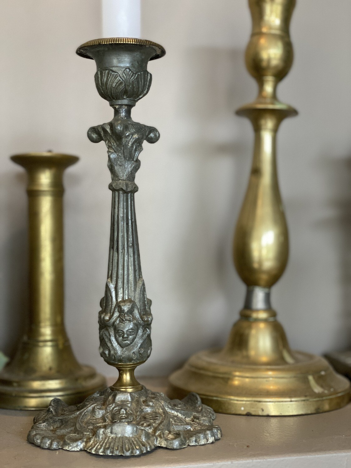 Bougeoir ancien style rococo