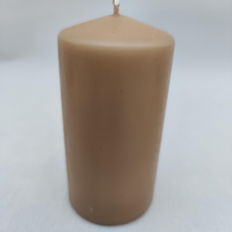 Kerze 8 cm hoch x 5 cm breit