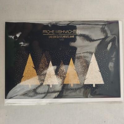 Gruß Karte cm 11,5x175 Frohe Weihnachten