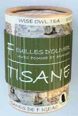 Feuilles d'olive et pomme - Livraison Gratuite (POINT DE DÉPÔT MONDIAL RELAY)