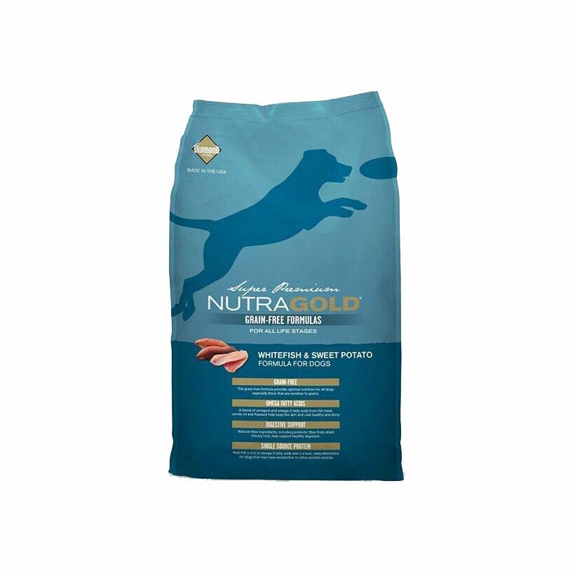 NutraGold whitefish & sweet potato 2.25kg