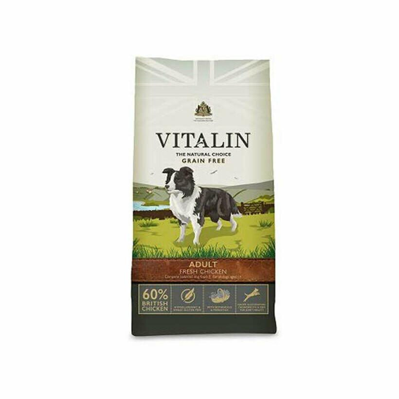 Vitalin adult fresh chicken 60% 12kg