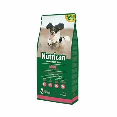 Nutrican adult dog 15kg+2