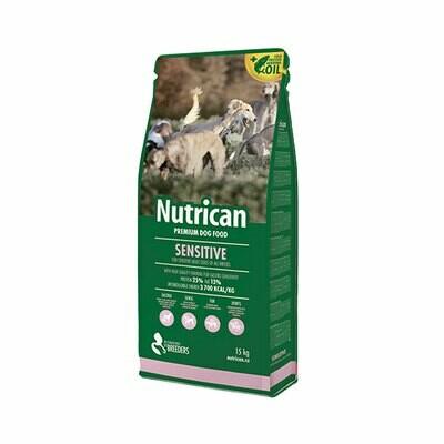 Nutrican dog sensitive 15+2kg