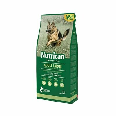 Nutrican adult dog large breed 15+2kg