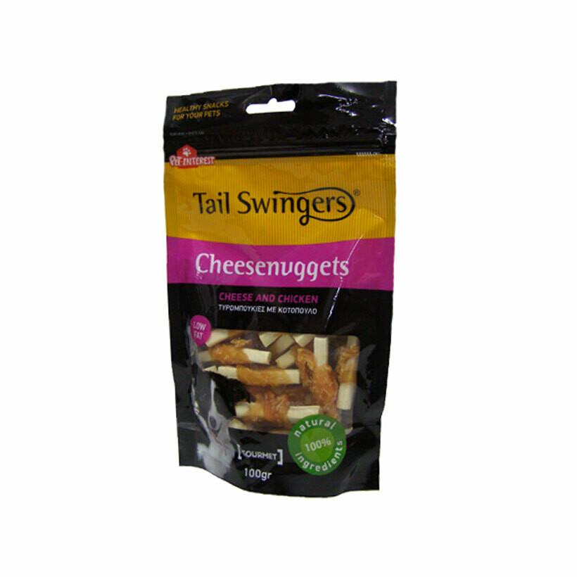 Tail Swingers deli sticks mini chew sticks with chicken 100gr