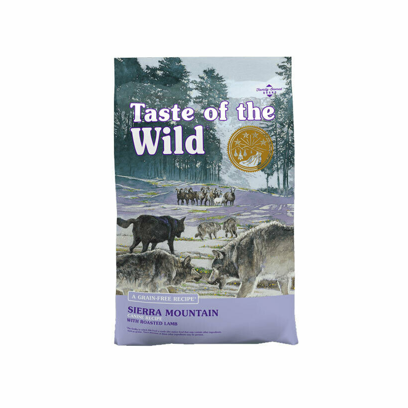 Taste of the Wild dry food Sierra mountain with roasted lamb 12.2kg