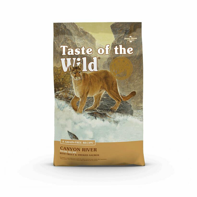 Taste of the Wild rocky mountain feline trout & smoked salmon 2kg