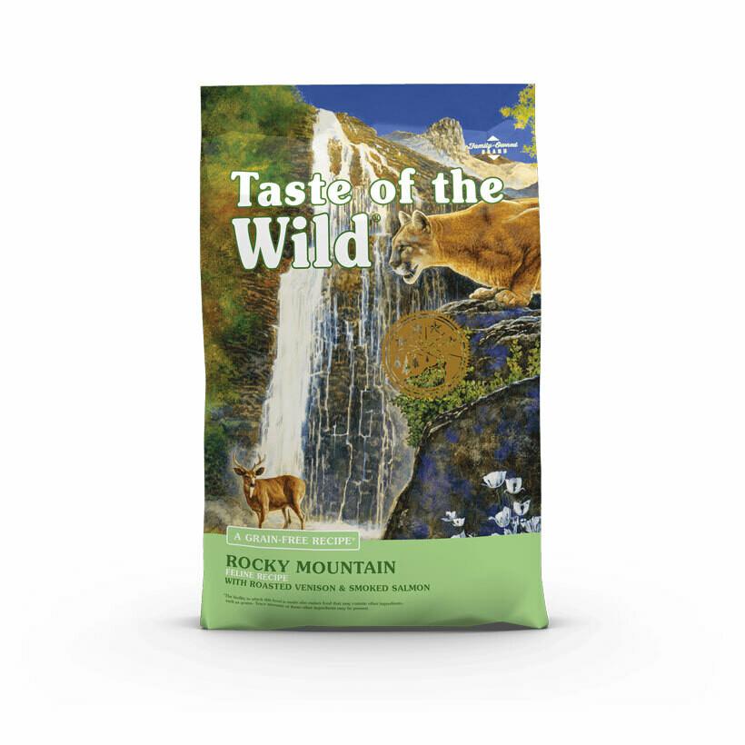 Taste of the Wild rocky mountain feline roasted venison & smoked salmon 2kg
