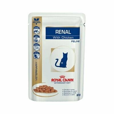 Royal Canin wet feline renal chicken  85gr