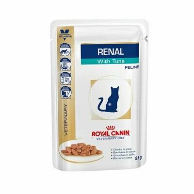 Royal Canin wet feline renal tuna  85gr