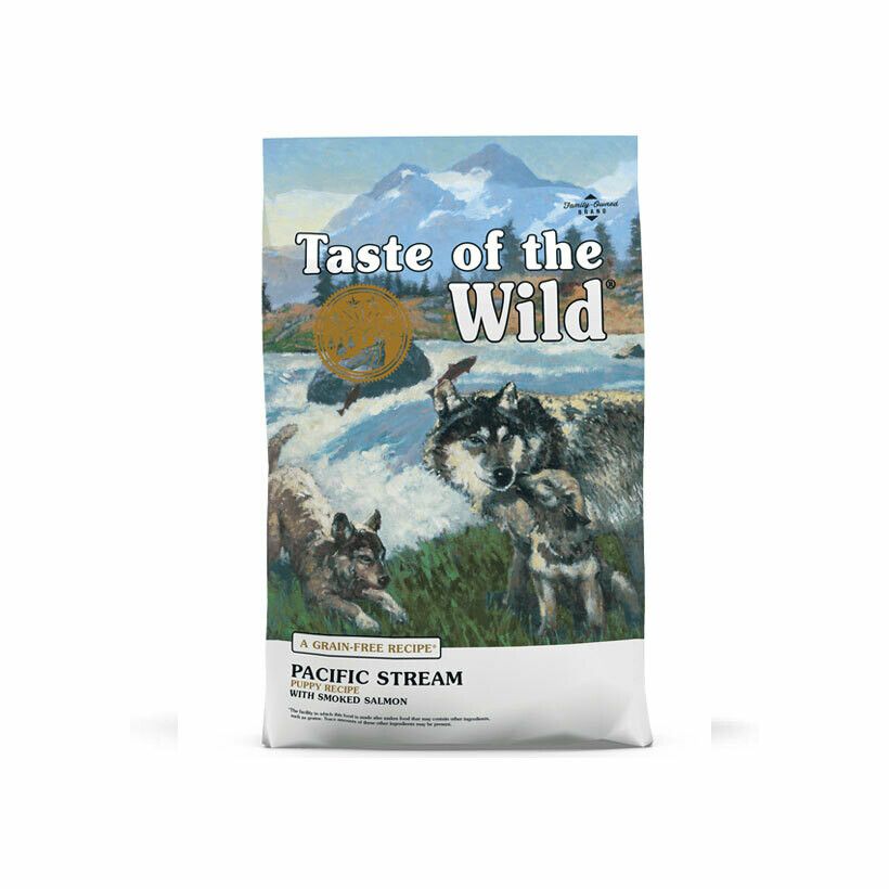 Taste of the wild dry food pacific stream puppy smoked salmon 13kg