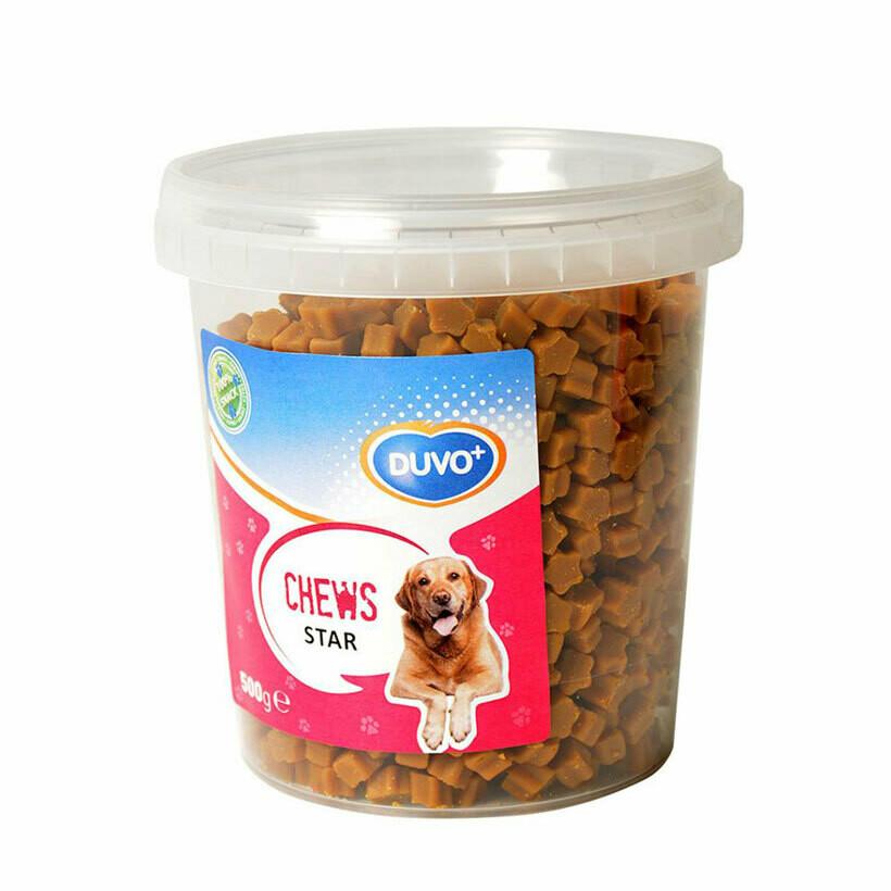 Duvo soft chews stars 500grs