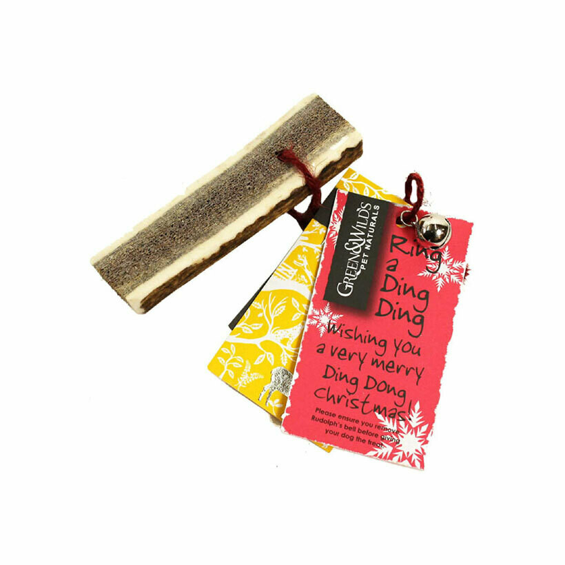 Green & Wilds dog antler chews easy small