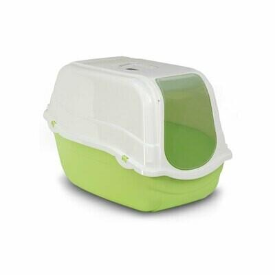Cat toilet Romeo - green