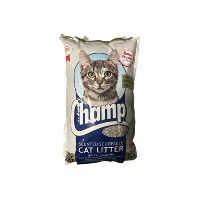 Champ cat litter baby powder 7kg