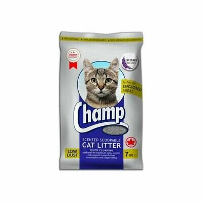 Champ cat litter lavender 7kg