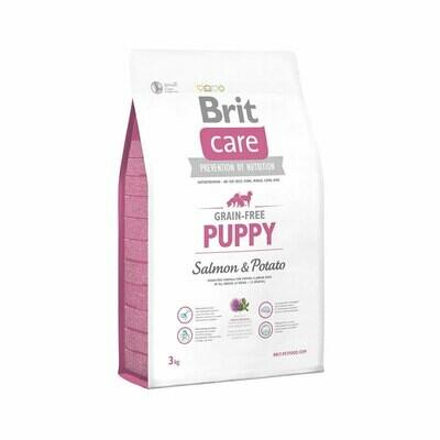 Brit care puppy grain-free salmon & potato puppy to junior all dog breeds 12kg