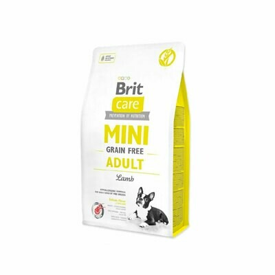 Brit care grain-free lamp hypoallergenic for adult dogs of mini breeds 2kg