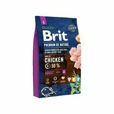 Brit 50% chicken formula adult small breed dog  up to 1kg