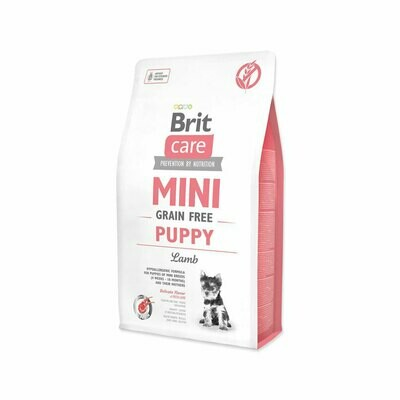 Brit care mini puppy hypoallergenic grain-free lamb 2kg