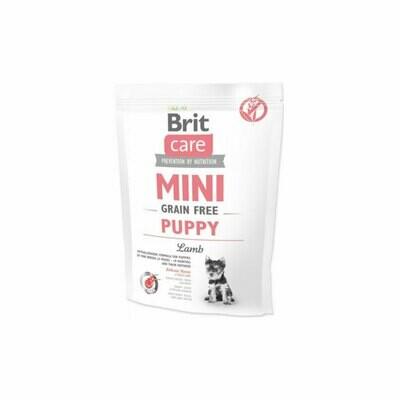 Brit care mini puppy hypoallergenic grain-free lamb 400grs