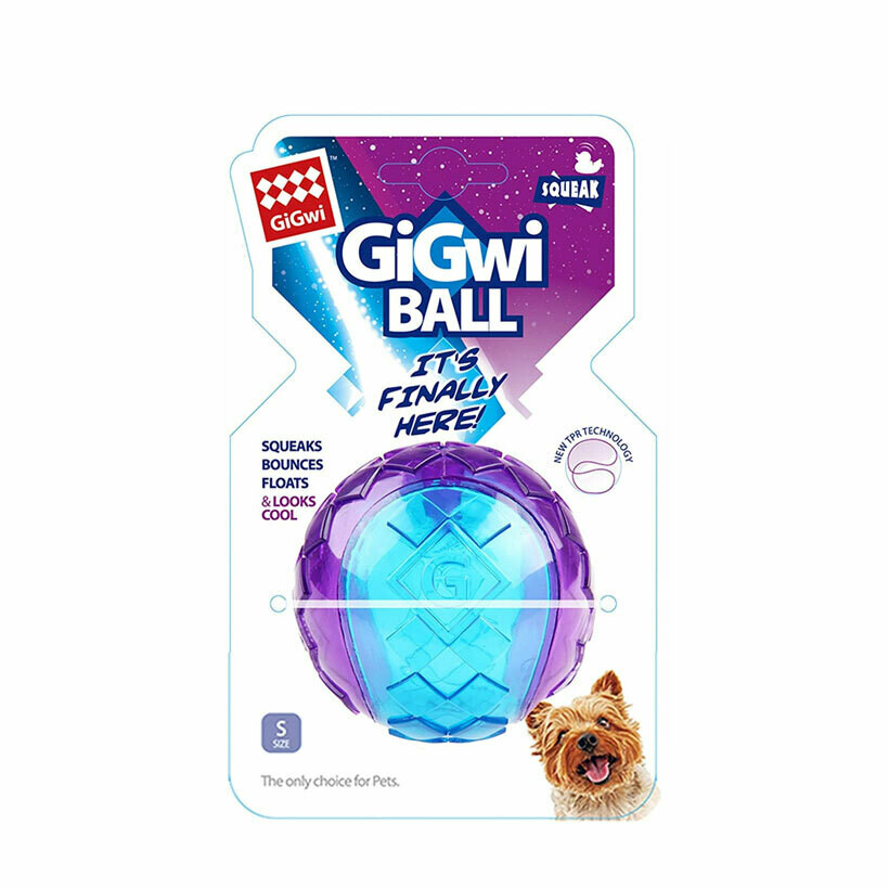 Gigwi small ball squeaker bounce & float (small)