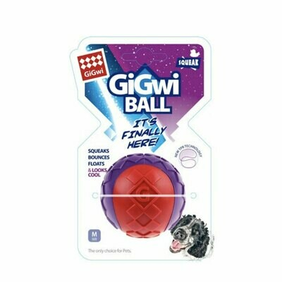 Gigwi small ball squeaker bounce & float (medium)