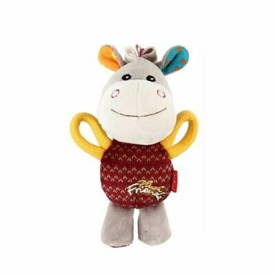 Gigwi plush friendz donkey squeak medium size