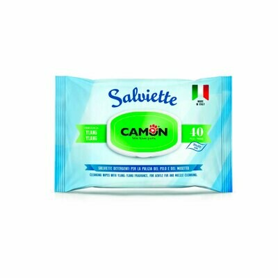 Camon ylang salviette cleaning wipes 30x20cm 40 pieces