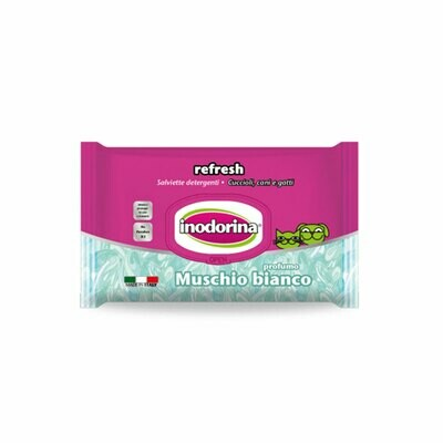 Indorina salviette cleaning wipes muschino bianco 30x20cm 100 pieces
