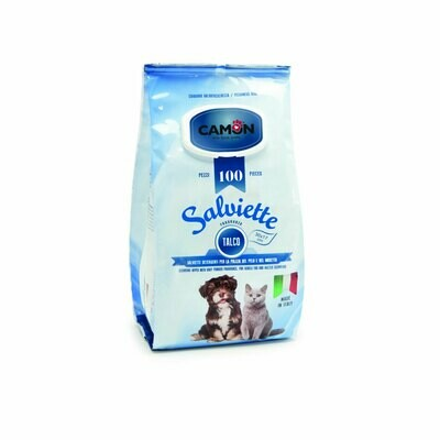 Camon salviette cleaning wipes talco 100 pieces