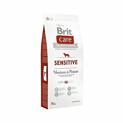 Brit care adult all breed sensitive venison & potato 12kg
