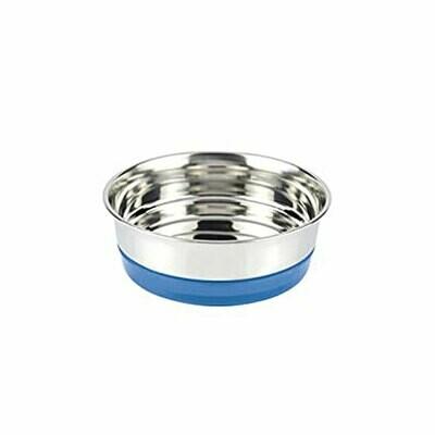 Croci steel bowl blue 820ml