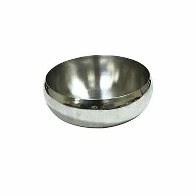 Croci steel bowl curvy 520ml