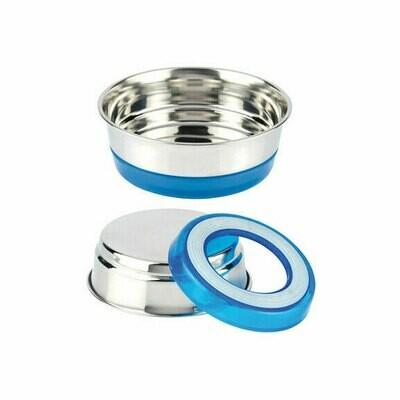 Croci steel bowl blue 470ml