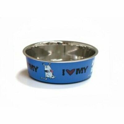 Croci roxy bowl blue 450ml