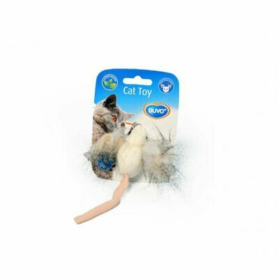 Duvo cat toy big ear mouse with catnip