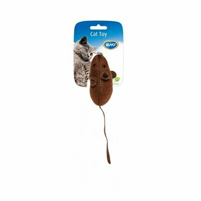 Duvo cat toy brown with catnip