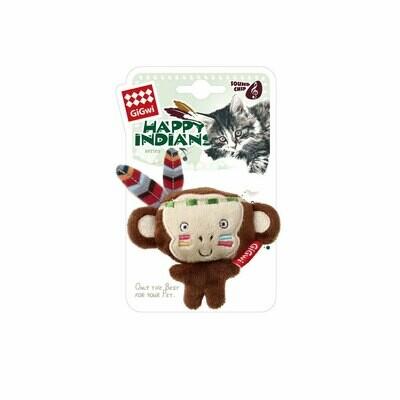 Gigwi happy indian monkey with catnip