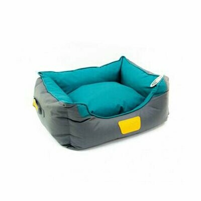 Gigwi place soft bed canvas green 7 gray large