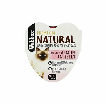 Webbox natural wet food with beef in gravy 85g