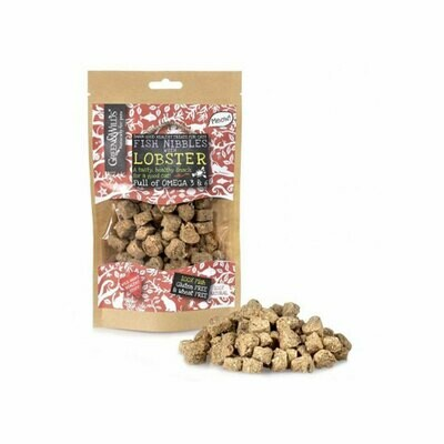Green & Wilds fish nibbles with lobster treats 100% natural 85grs