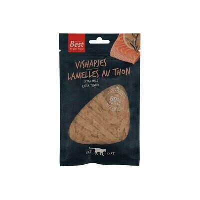 Best lamelles au thon tendre 80% salmon 40grs