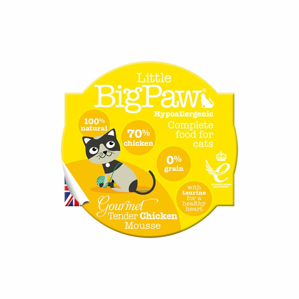 Bigpaw mousse chicken cat hypoallergenic 85grs