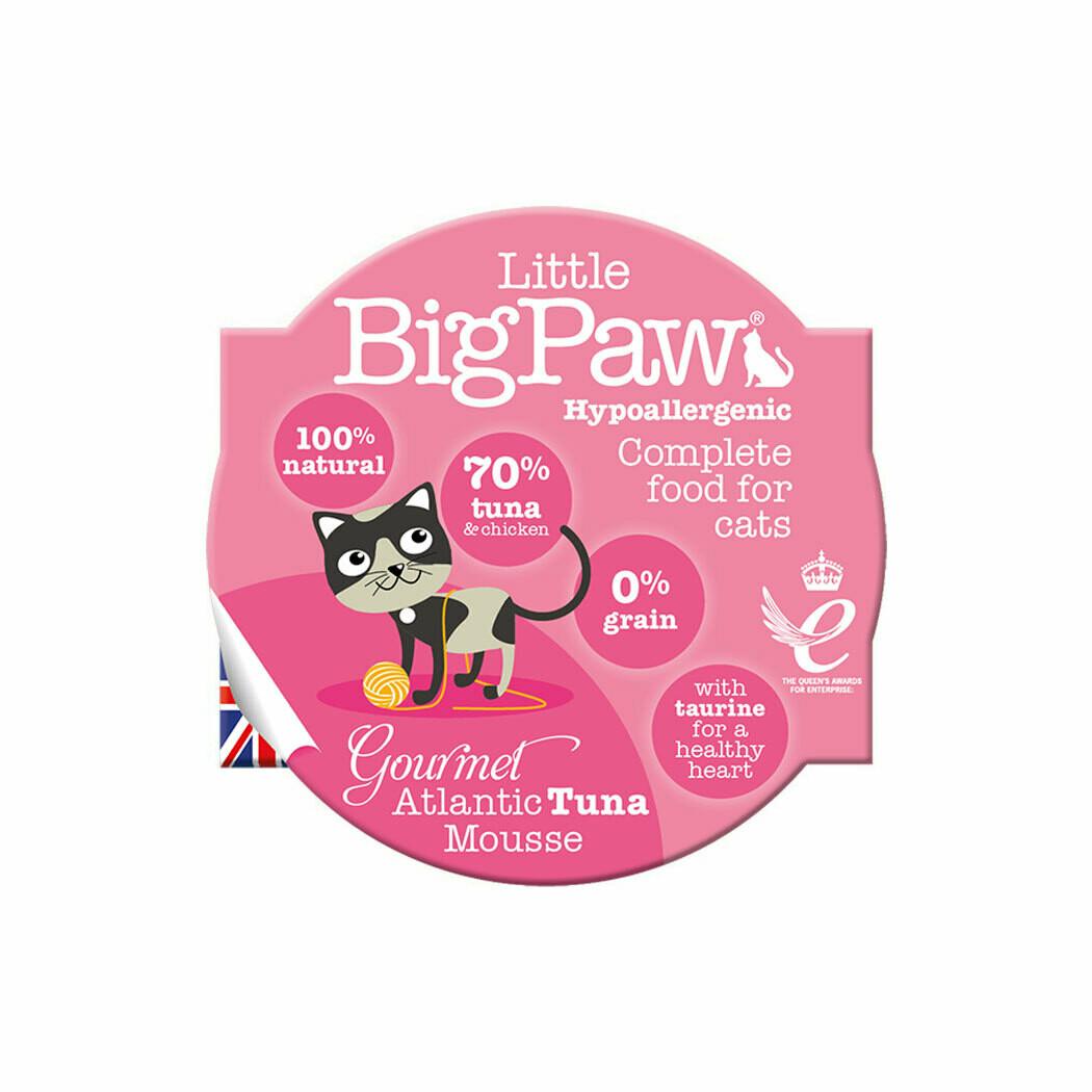Bigpaw tuna mousse hypoallergenic 85grs