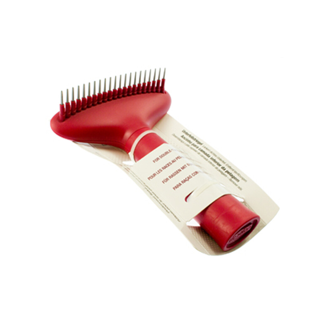 Le Salon essentials undercoat rake loosens thick undercoat hair small
