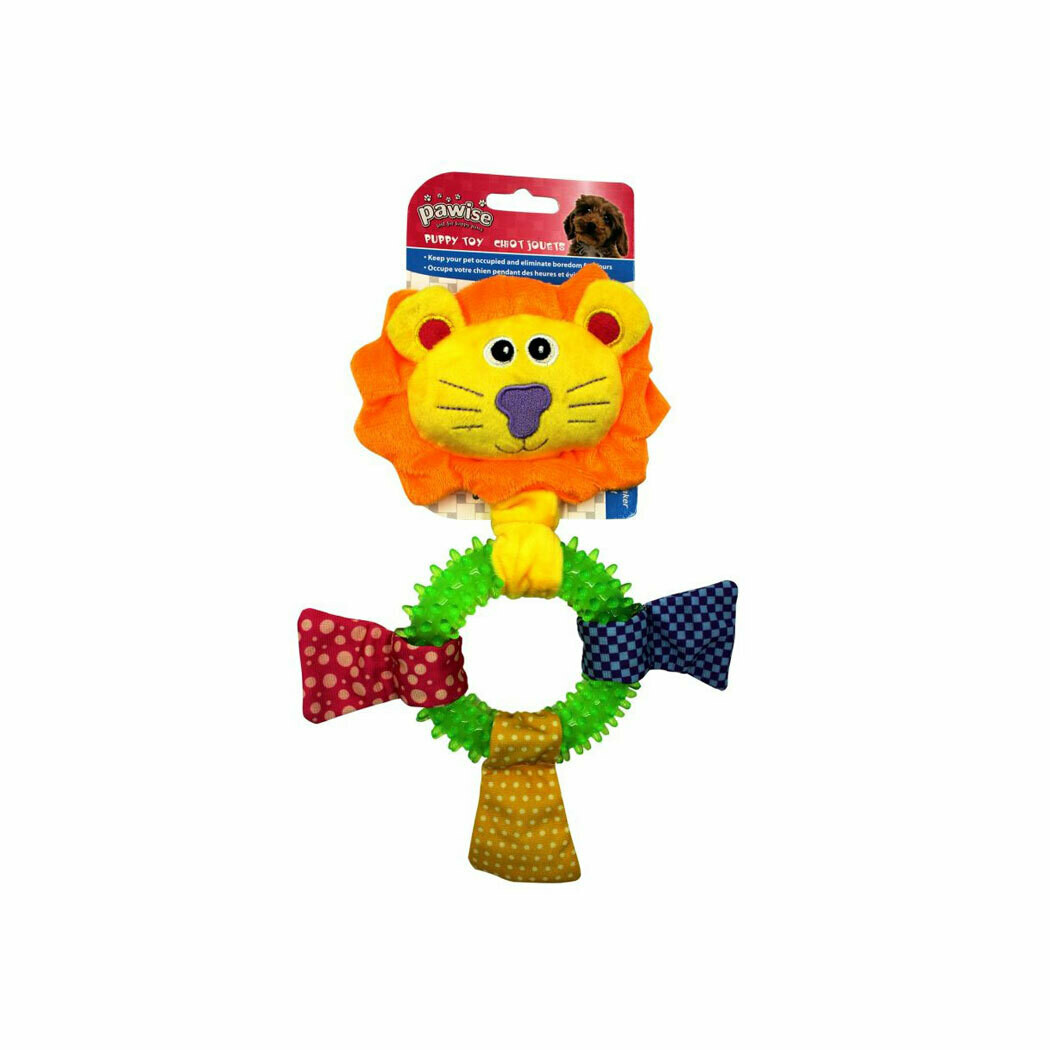 Pawise puppy toy lion